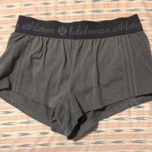 Lulu lemon gray shorts
